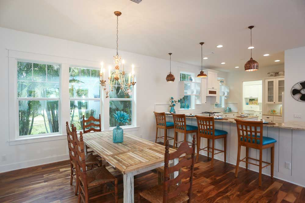 Expansive Dining Room with Room for Plenty of Guests