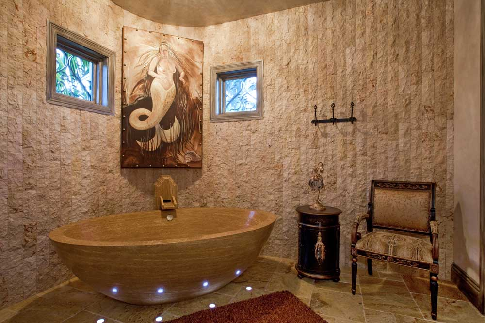 Opulent Luxury Awaits You In This Custom Built Bathroom