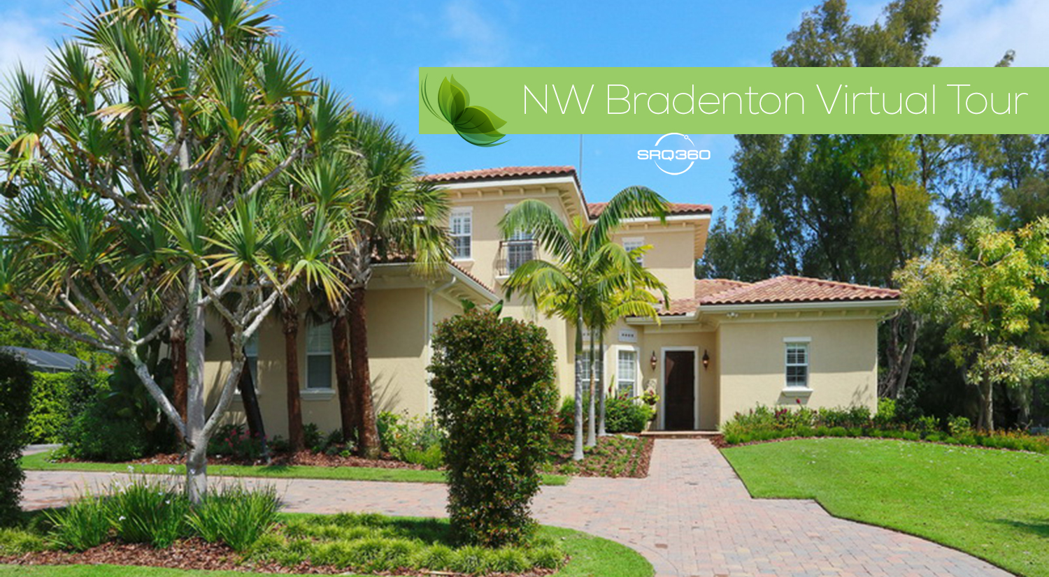 View this Spectacular NW Bradenton Custom Home Virtual Tour